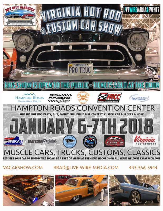 Virginia Hot Rod and Custom Car Show Vehicle Registration